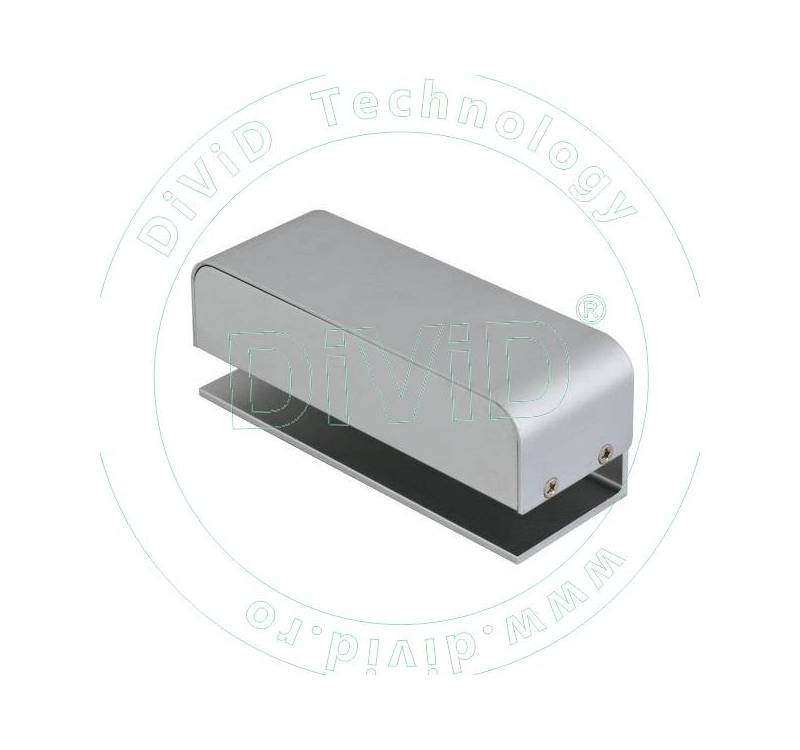Suport din duraluminiu pentru montarea contraplacii bolturilor electrice ABK-601