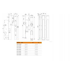 Incuietoare electromagnetica incastrabila DORCAS YLI - 2