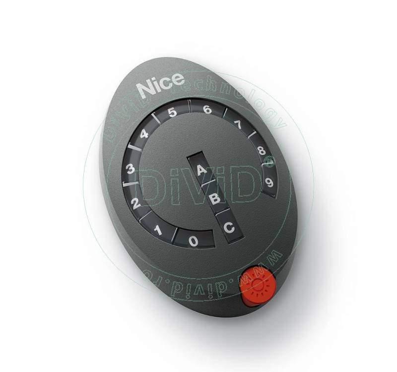 Selector digital radio cu 13 taste Nice Home DS100 Nice Home - 1