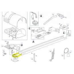 Lant automatizare usa garaj Shel Nice Automatizari - 2