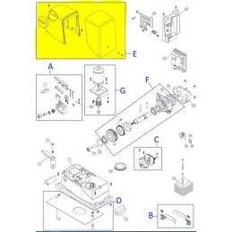 Set capace protectie motoreductor ROAD400 Nice Automatizari - 2