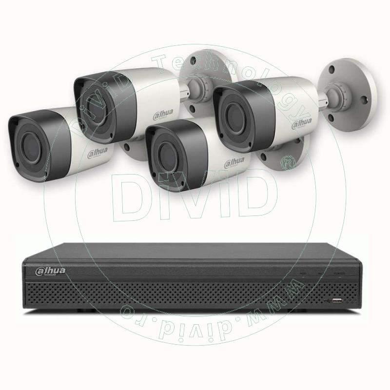 sistem supraveghere 4 canale HD