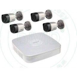 Sistem supraveghere video exterior 4 camere Full HD DAHUA - 2