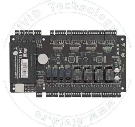 Centrala de control acces pentru 4 usi unidirectionale sau 2 bidirectionale CCA3-4-1