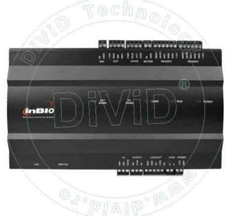 Centrala de control acces biometrica pentru 1 usa bidirectionala INBIO-1-2