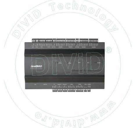 Centrala de control acces biometrica pentru 2 usi bidirectionale INBIO-2-2