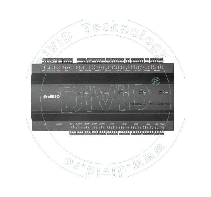 Centrala de control acces biometrica pentru 4 usi bidirectionale INBIO-4-2