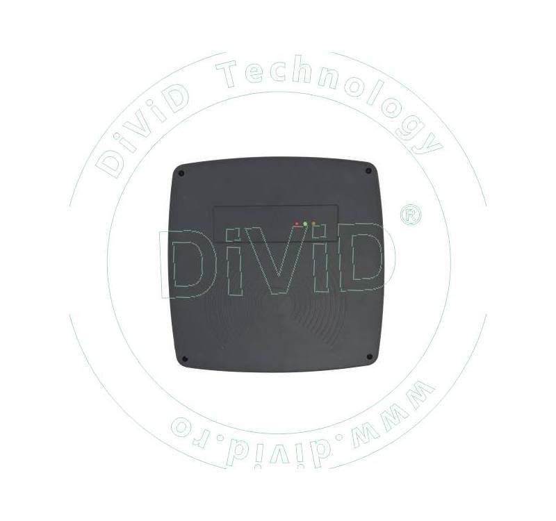 Cititor de proximitate RFID (125KHz) de distanta medie pentru centrale de control acces YK-08Y-ID