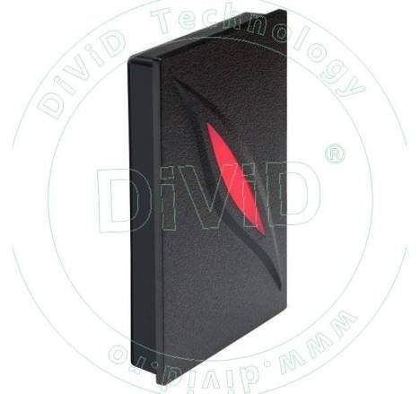 Cititor de proximitate RFID (125KHz) pentru centrale de control acces KR-100E