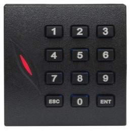 Cititor de proximitate RFID (MIFARE 13.56MHz) cu tastatura pentru centrale de control acces KR-102M