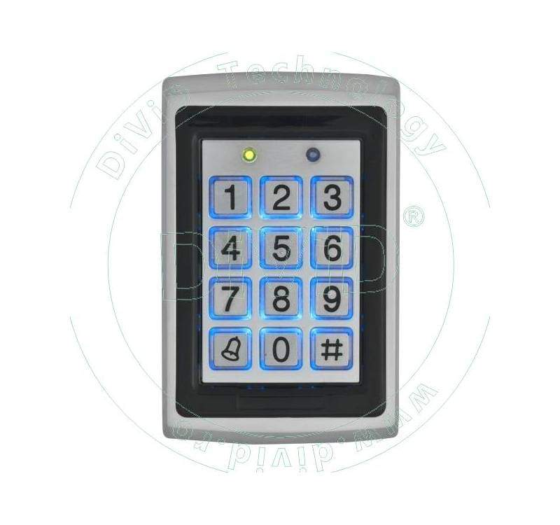 Controler/Cititor de proximitate cu tastatura pentru exterior (125KHz) YK-568L