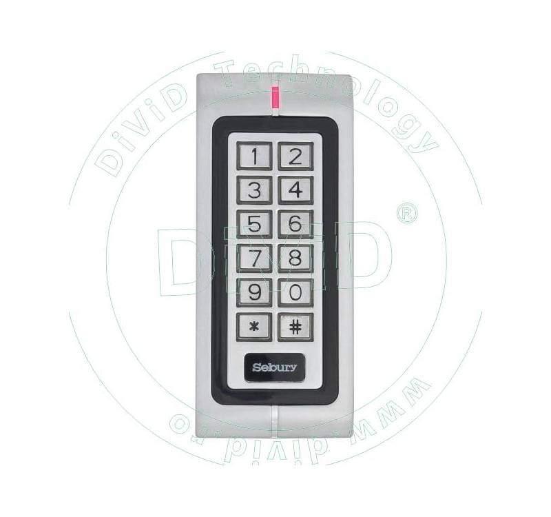 Cititor de proximitate RFID(125KHz) stand-alone cu tastatura aplicabila W1-A