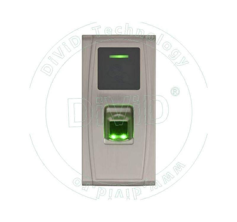 Terminal de control acces cu cartele de proximitate si amprente FPA-300