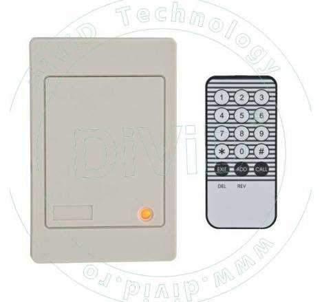 Controler/Cititor de proximitate (125KHz) stand-alone, programare cu telecomanda YK-66R