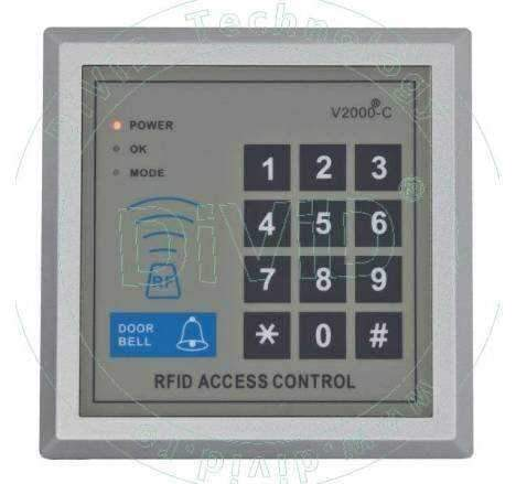 Controler/Cititor de proximitate cu tastatura YK-168
