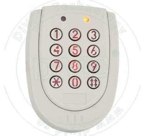 Controler/Cititor de proximitate cu tastatura pentru exterior YK-520L