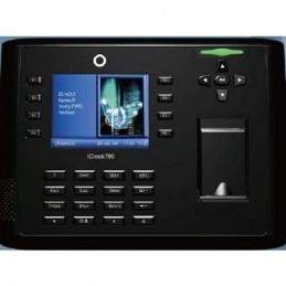 Controler de acces biometric cu functie de pontaj si camera foto incorporata ICLOCK700