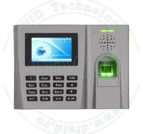 Sistem de pontaj cu amprenta si/sau cod TA-FP-260-C