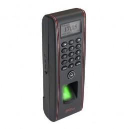 Controler de acces cu functie de pontaj, cu cititoare de amprente si de cartele incorporate FPA-1700