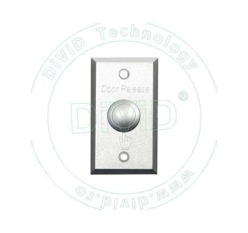 Buton de iesire incastrabil, din duraluminiu ABK-800A