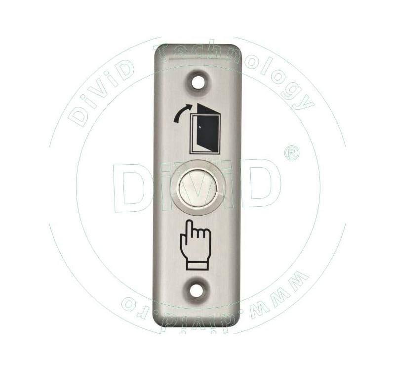 Buton de iesire incastrabil, din inox ABK-801A