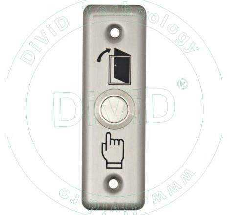 Buton de iesire incastrabil, din inox PBK-811A
