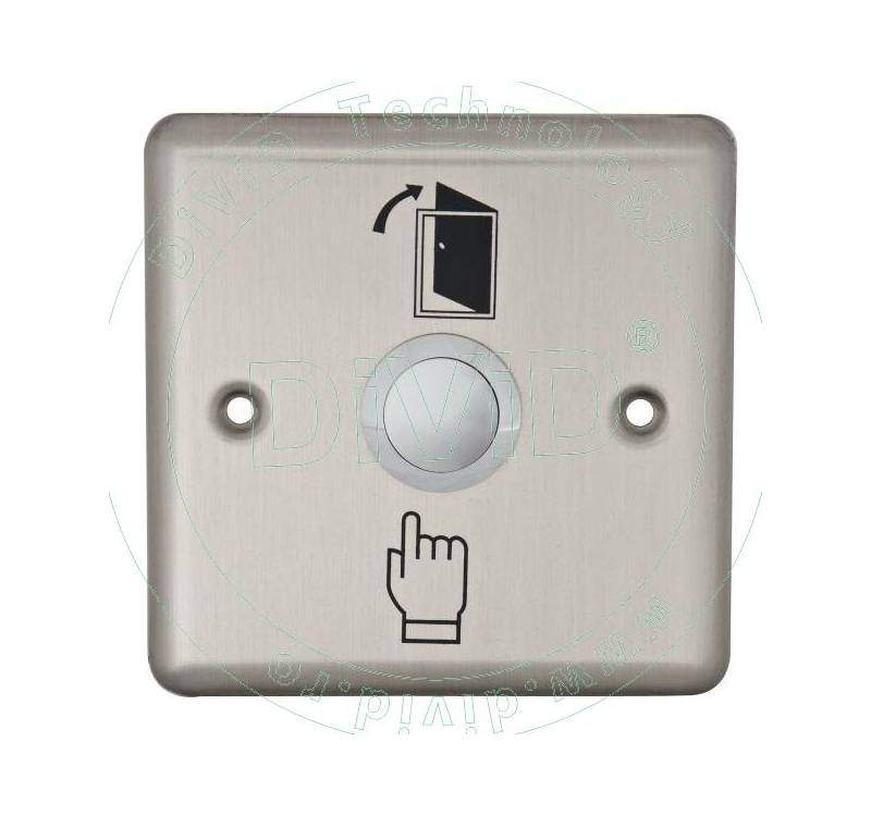 Buton de iesire incastrabil, din inox ABK-801B