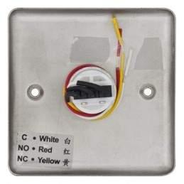 Buton de iesire incastrabil, din inox ABK-801B spate