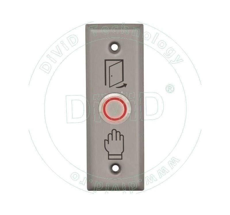 Buton de iesire incastrabil cu LED ABK-804C