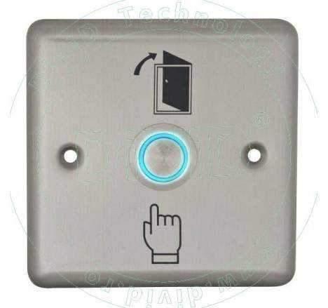 Buton de iesire din inox cu LED ABK-804