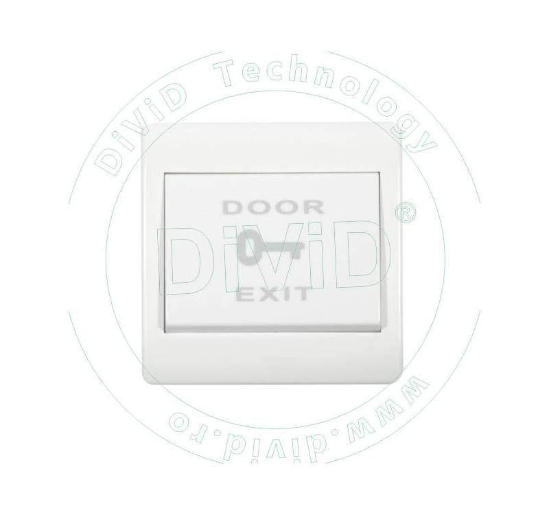 Buton de iesire incastrabil, din plastic (NO/NC) ABK-802NO/NC