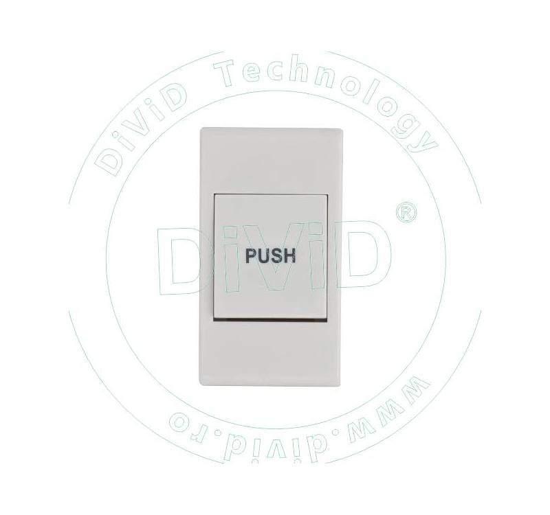 Buton de iesire aplicabil, din plastic NO/NC