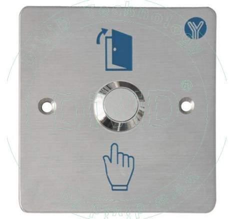 Buton de iesire incastrabil, din inox ABK-807