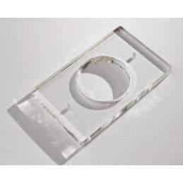 Suport din plexiglas pentru montarea aplicata a butonului ABK-801DIR