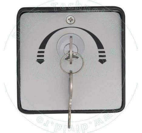 Buton aplicat cu cheie YKS-803D2