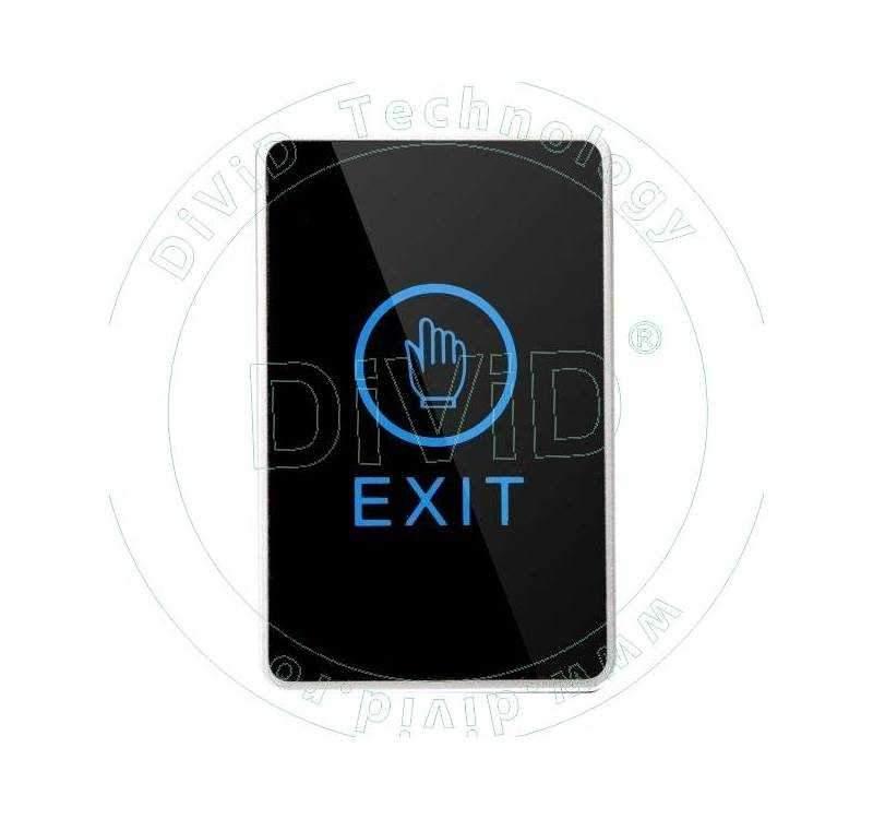 Buton de iesire aplicabil, din plastic cu touchscreen ABK-820A
