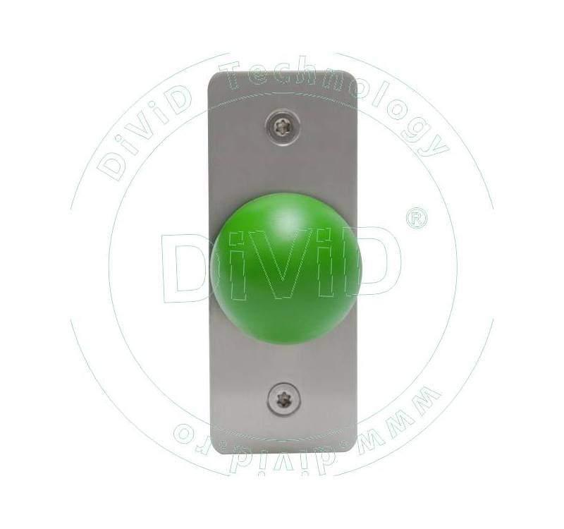 Buton de iesire aplicabil din inox ABK-808A