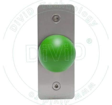Buton de iesire aplicat din inox PBK-818A