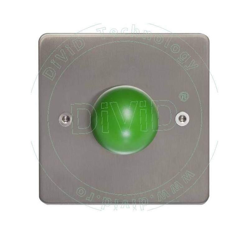 Buton de iesire aplicabil din inox ABK-808B