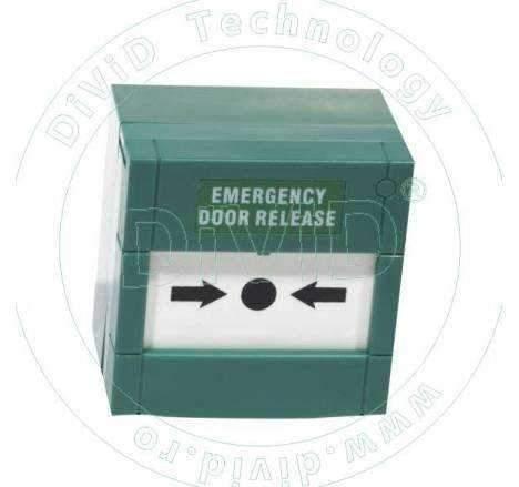 Buton aplicat din plastic pentru iesire de urgenta CPK-861A