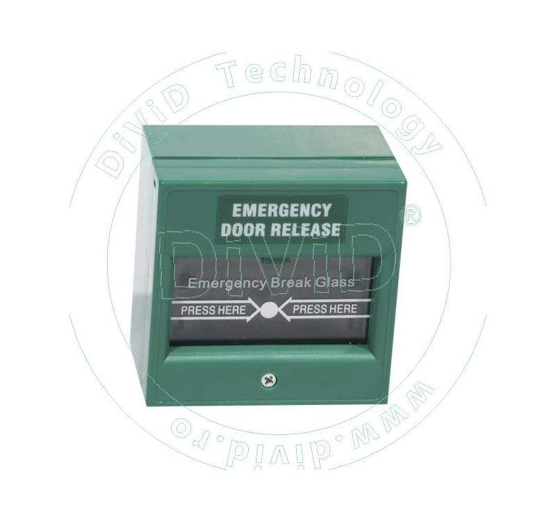 Buton aplicabil din plastic, pentru iesire de urgenta ABK-900A