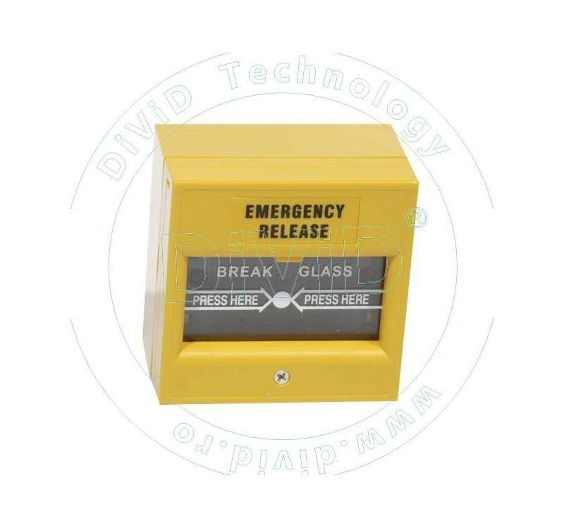 Buton aplicabil din plastic, pentru iesire de urgenta ABK-900B