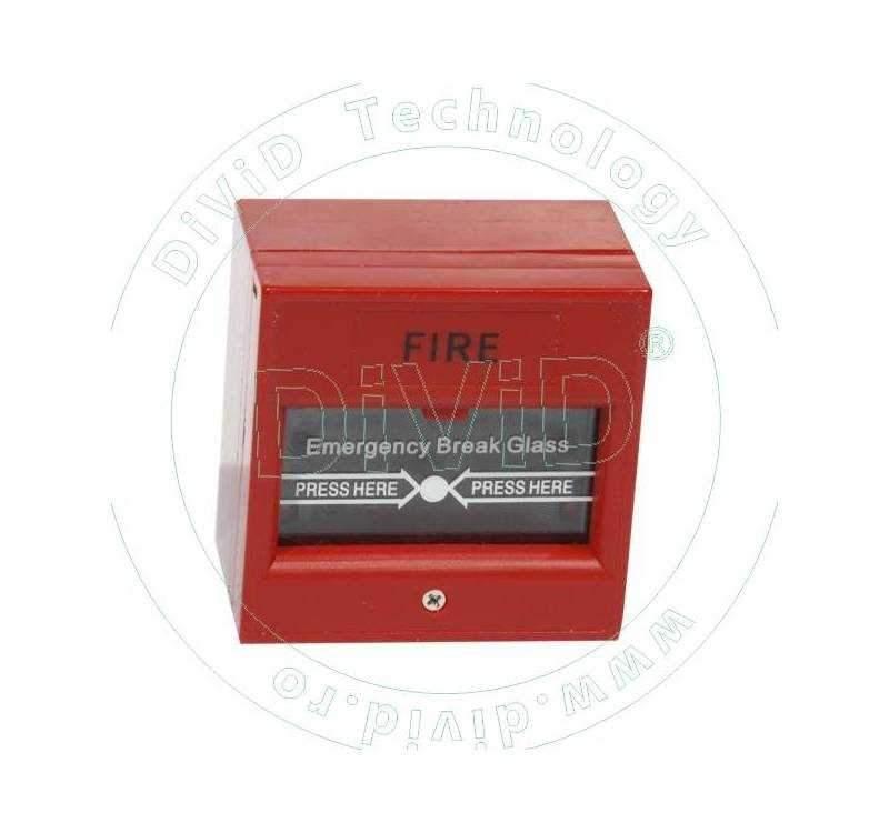 Buton aplicabil din plastic, pentru iesire de urgenta ABK-900C