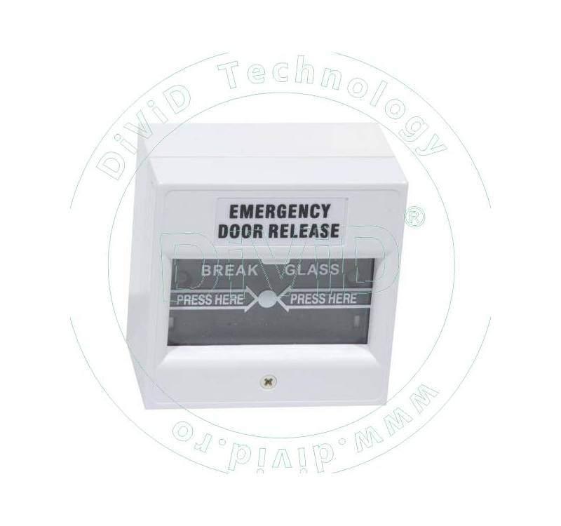 Buton aplicabil din plastic, pentru iesire de urgenta ABK-900D