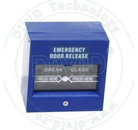 Buton aplicat din plastic, pentru iesire de urgenta ABK-900E