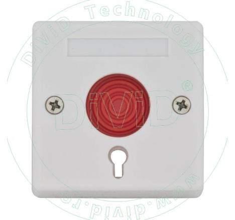 Buton de panica aplicat, cu cheie 5C-68B