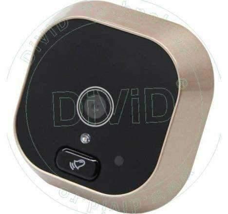 Vizor electronic cu ecran TFT si buton pentru sonerie  DV-04CH
