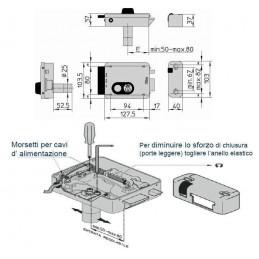 Yala electromagnetica cu cilindru - dreapta