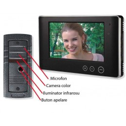 Videointerfon color DP700