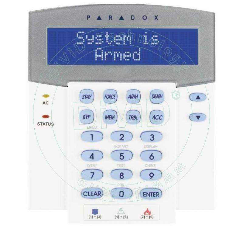 Tastatura LCD K641